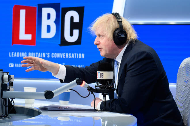 The Prime Minister answered questions form LBC listeners