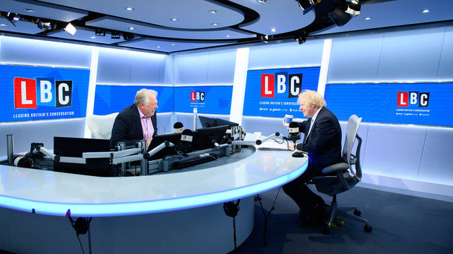 The Prime Minister was speaking to LBC on Friday morning