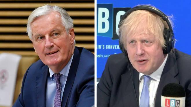 """Boris Johnson said an Australian-style deal is a """"very good option"""""""