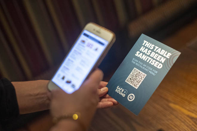 Punters will have to order via an app at many venues