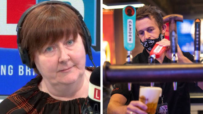"Shelagh Fogarty labelled the decision to open pubs at 6am ""mad"""