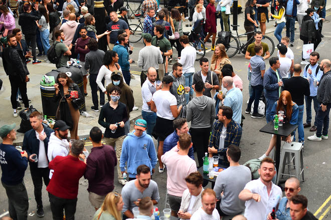 The chair of the Police Federation said that pubs couldn't cope with the amount of people out last night