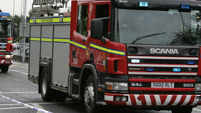 FIfe Zoo was evacuated after a fire (file image)