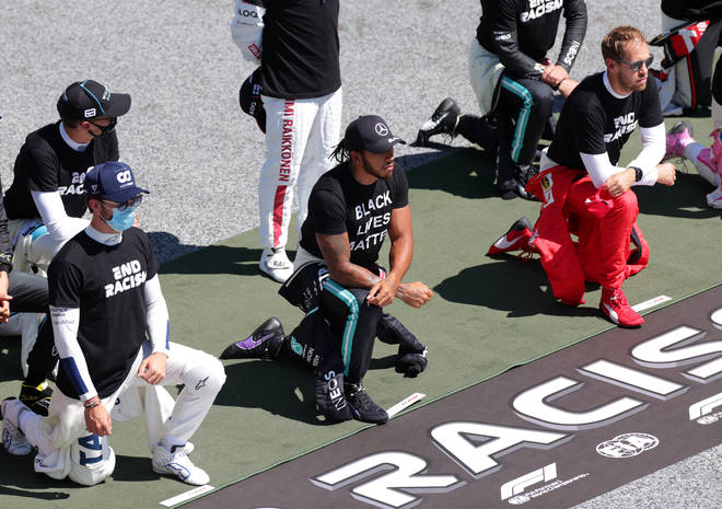 Lewis says he believes there is still racism within F1