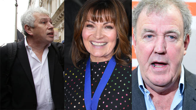 Columnists at News UK publications include Rod Liddle, Lorraine Kelly and Jeremy Clarkson