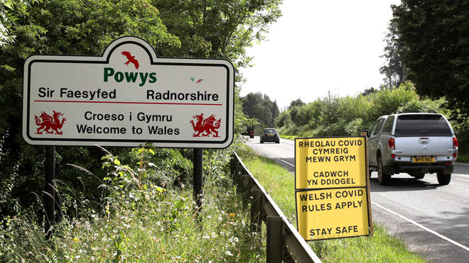 The five-mile limit for travel in Wales ends today