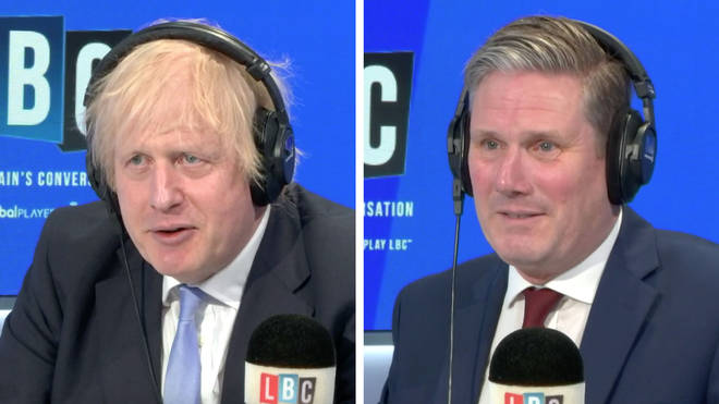 Boris Johnson asked Keir Starmer a question about the re-opening of schools