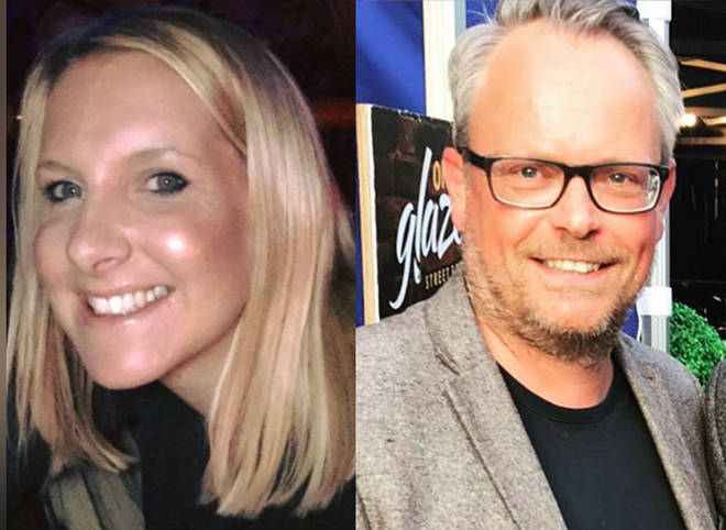 Helen Hancock, 39 and Martin Griffiths, 48, were killed by her estranged husband Rhys