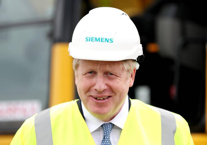 Boris Johnson has been visiting Yorkshire