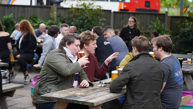 Some pubs have been forced to close just days after reopening due to coronavirus cases