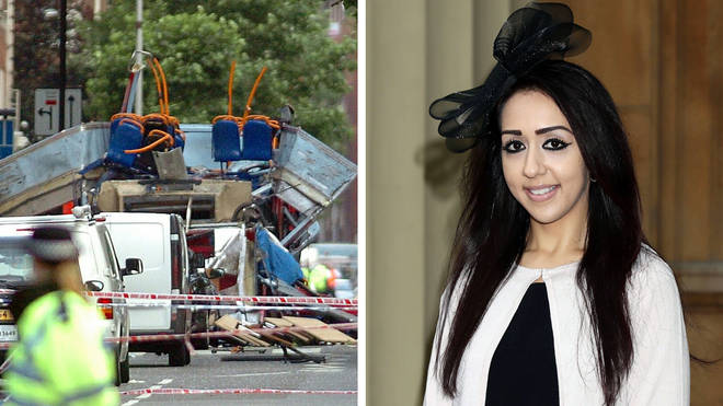 Sajda Mughal told her survivor's story of the London bombings