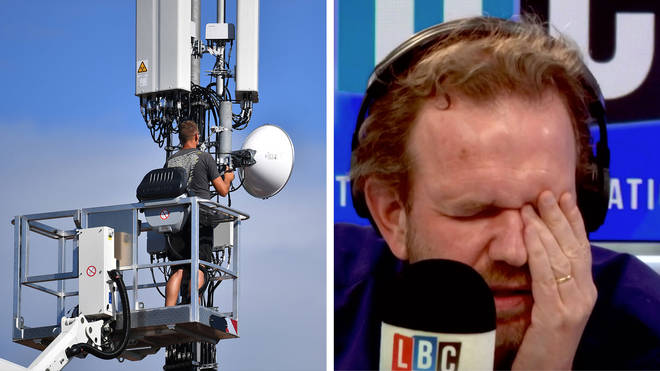 James O'Brien heard from a caller whose partner is a conspiracy theorist