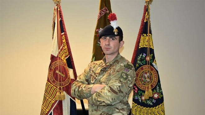 Sam Brownridge was part of the British Army's combat-ready forces as part of a Nato mission in the country