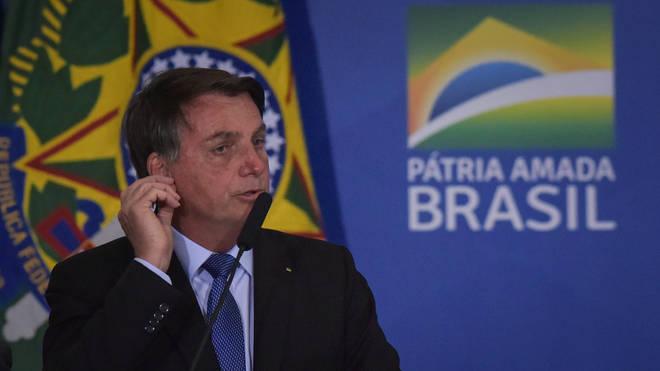 Jair Bolsonaro has tested positive for Covid-19