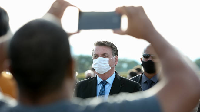Bolsonaro has repeated down played the severity of the crisis