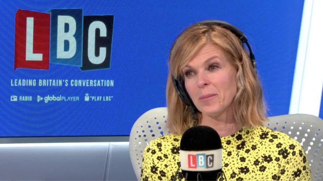 Kate Garraway revealed the touching notes her husband left for her