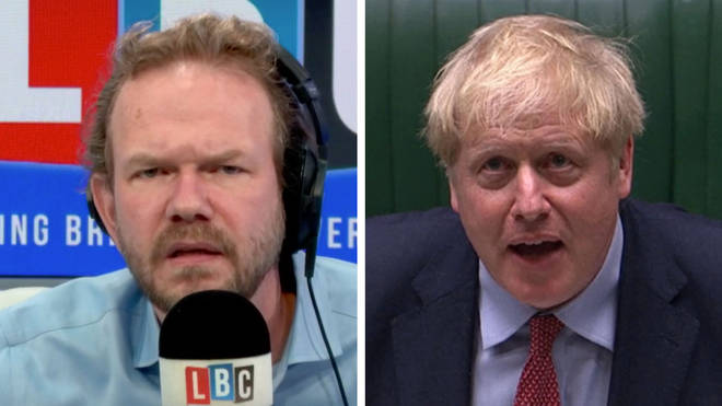 James O'Brien played back what Boris Johnson actually said