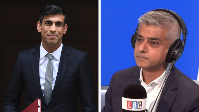 """Sadiq Khan told LBC: """"The biggest problem with this mini-budget is it fails to address the scale of the challenge we are facing"""""""