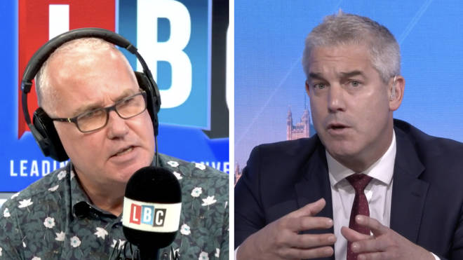 Eddie Mair scrutinised Steve Barclay over the Chancellor's Summer Statement