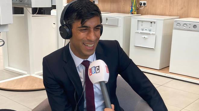 The Chancellor spoke to LBC's Nick Ferrari on Thursday