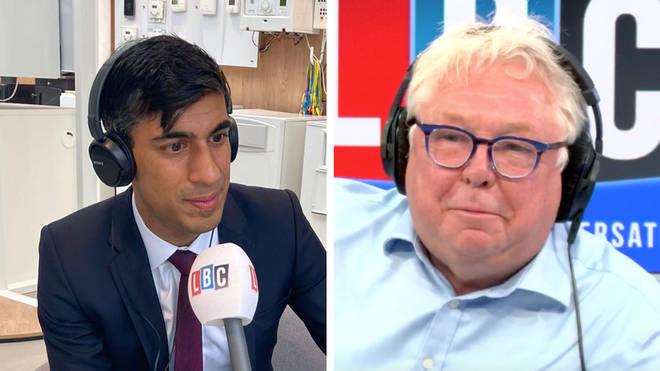 Rishi Sunak spoke to Nick Ferrari following the summer statement