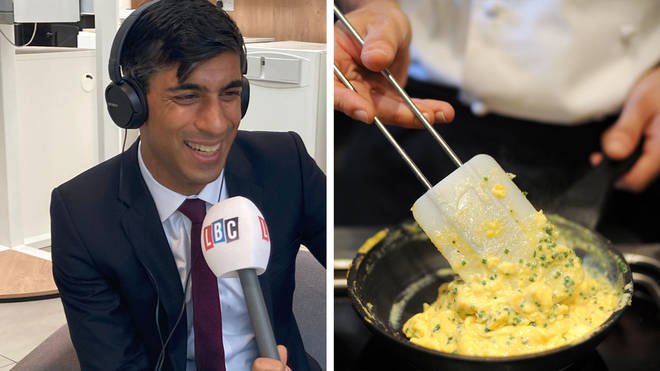 Rishi Sunak revealed the first half-price meal he would enjoy