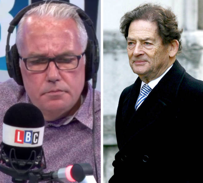 Lord Lawson spoke to Eddie Mair on Monday