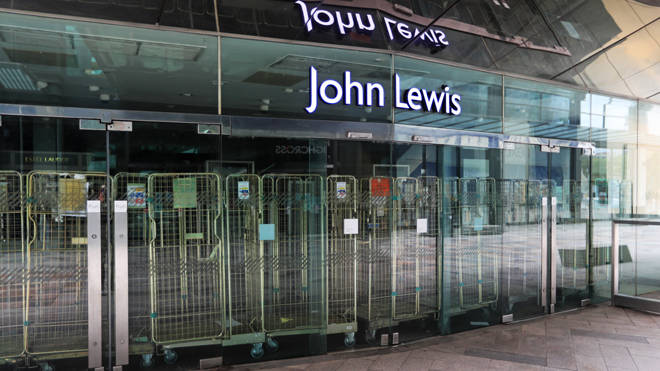John Lewis is to close eight of its department stores