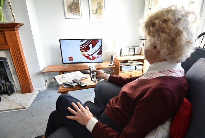 File photo: Most over-75s will have to pay for their TV licence after August 1