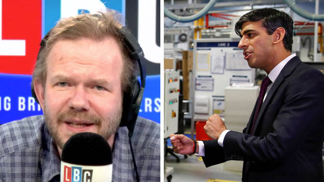 James O'Brien heard this lovely phrase about Rishi Sunak's statement