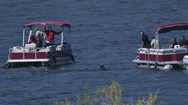 Divers in the search effort for Naya Rivera