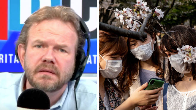 James O'Brien heard a fascinating take on facemasks from a Japanese caller