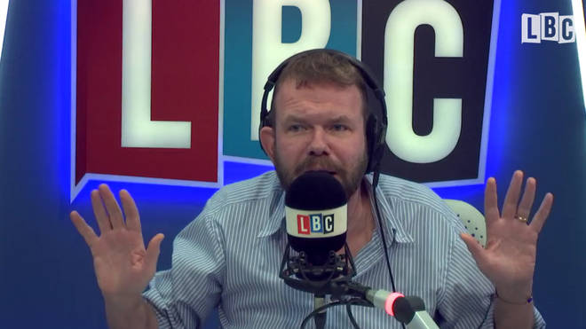 "James O&squot;Brien pleaded with the caller ""Don&squot;t smack me!"""