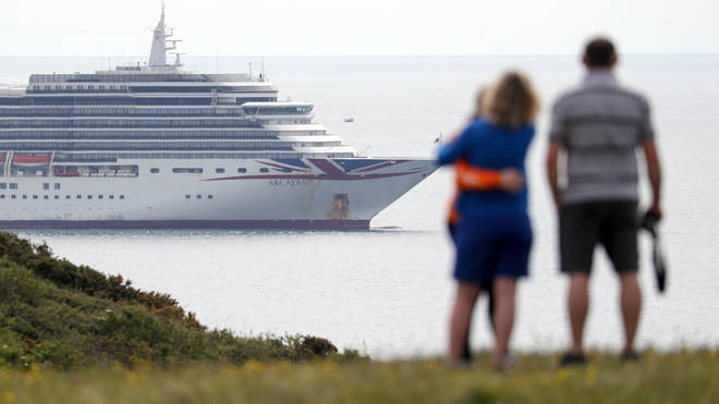Cruise ship holidays have ground to a halt due to the coronavirus pandemic