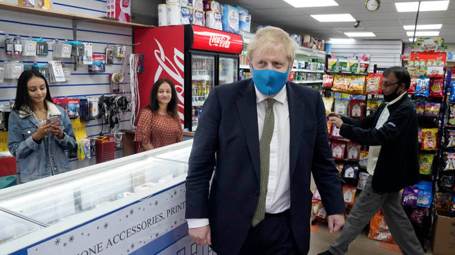 The Prime Minister has hinted that face masks may become mandatory in shops in England