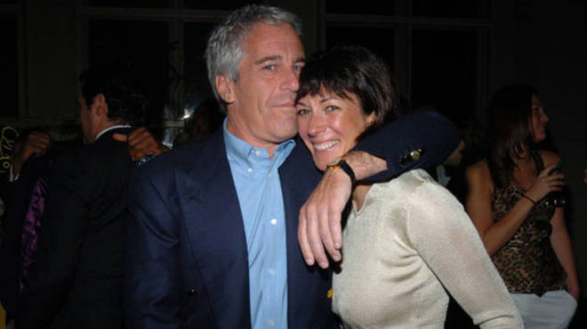 Ghislaine Maxwell pictured with Jeffery Epstein