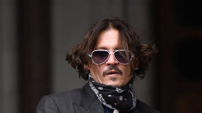 The Pirates Of The Caribbean actor has been giving evidence in his libel action against The Sun newspaper
