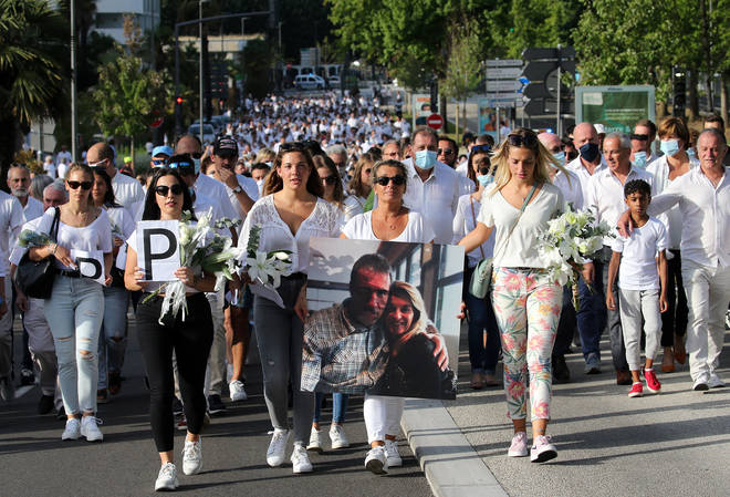 Thousands lined the streets of Bayonne to pay tribute