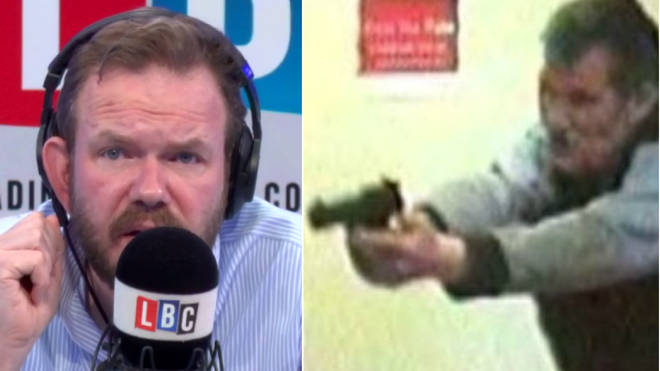 James O'Brien spoke to a man who tackled a bank robber