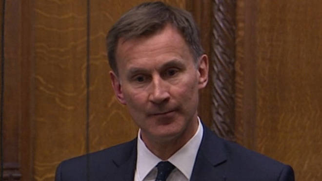 """Jeremy Hunt has called for """"simplicity"""" in the government&squot;s advice over face masks"""