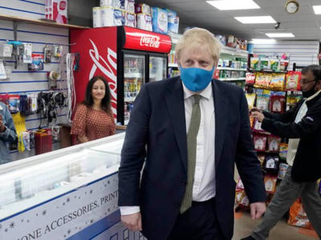Boris Johnson hinted at face coverings becoming mandatory in england