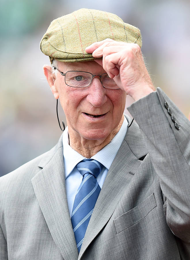 Jack Charlton passed away at the age of 85