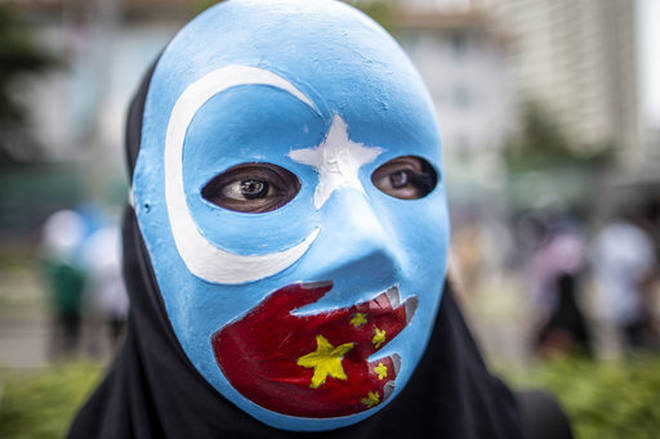 "Uighur Muslims have been sent to ""reeducation camps"" in their millions"