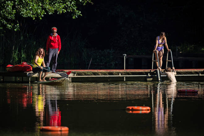 Hampstead Heath's ponds also reopened on Saturday