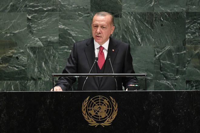 Turkish President Erdoğan announced plans to turn the Hagia Sofia into a Mosque