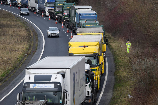 A new lorry park in Kent is expected to form part of the new border measures