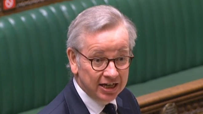 Michael Gove has encouraged people to go back to work to fire up the economy