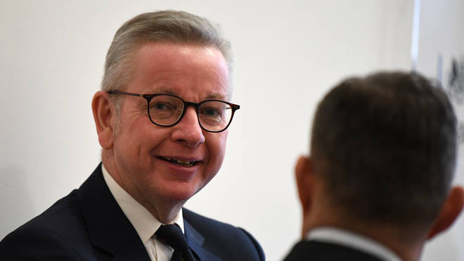 Michael Gove has said wearing face coverings in England's shops should not be mandatory