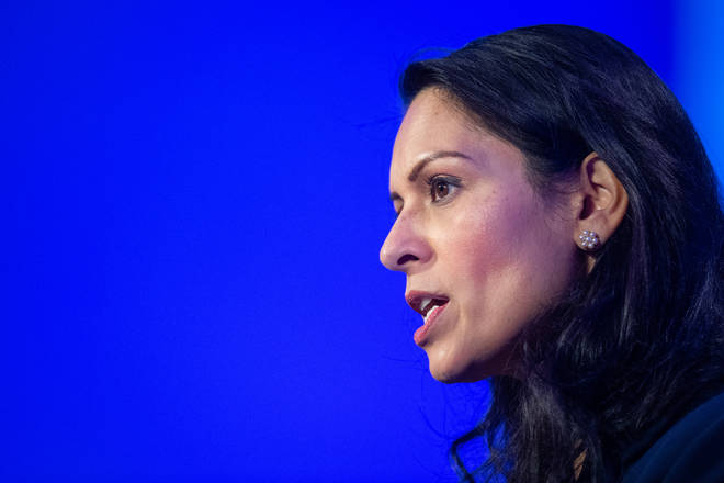 Priti Patel apparently suggested that police feared cries of racism if they interfered in the Leicester scandal