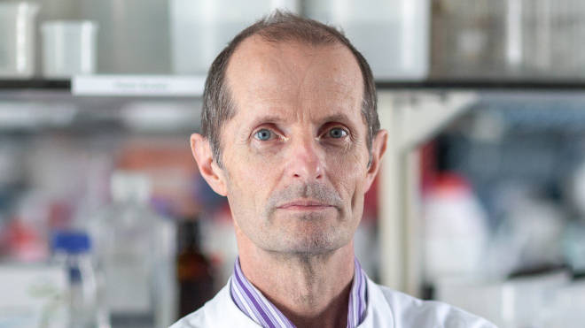 Professor Robin Shattock said a coronavirus vaccine could be rolled out in the UK next year